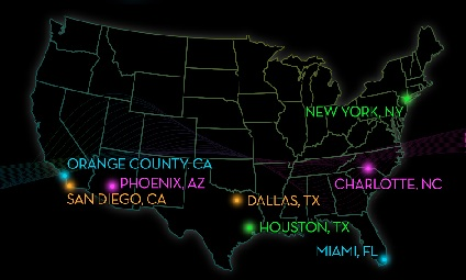 Electric Run Locations