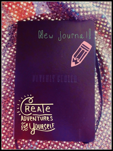 New journal; love the binding!