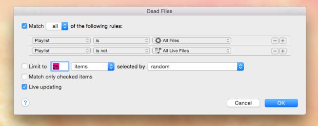dead files