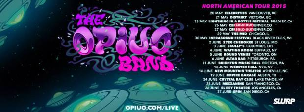 Opiuo Summer Tour