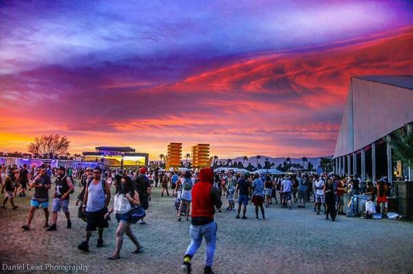 Coachella Sunset DL Photo