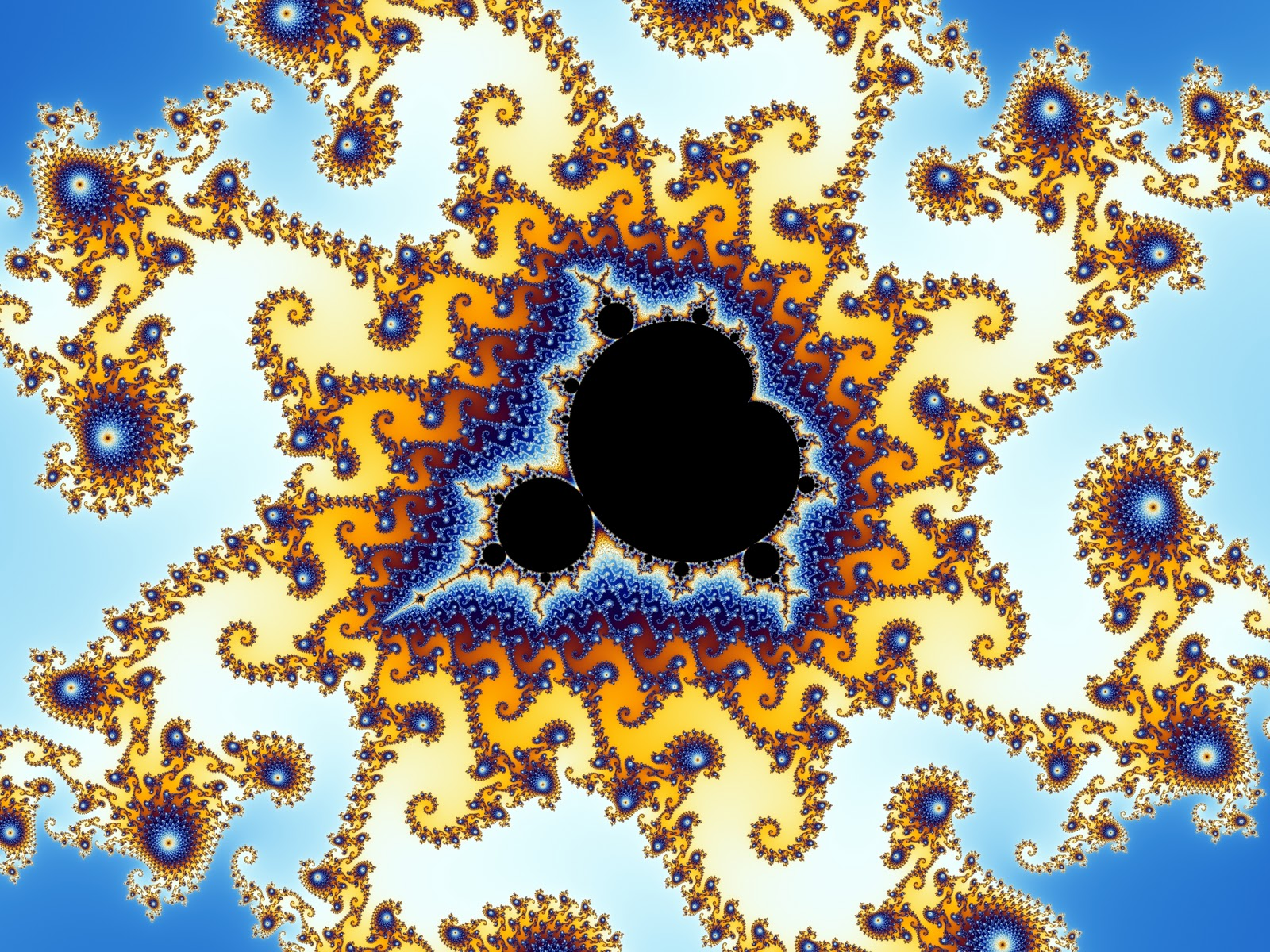 the man cave: The Mandelbrot Set & Fractals